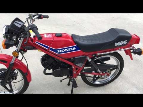 Repeat 1982 Honda MB 5 by Wayne Molsen - You2Repeat