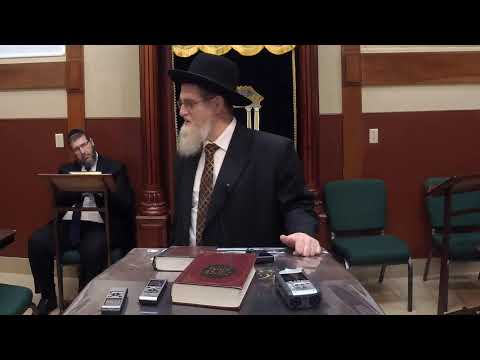 Rabbi Grunblatt Shmuess in YTCTE