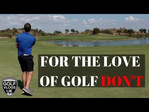 FOR THE LOVE OF GOLF HELP-MONTE REI GOLF COURSE VLOG