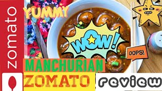 Best Zomato food review show, best Manchurian in Patiala , Manchurian review of fountain food court