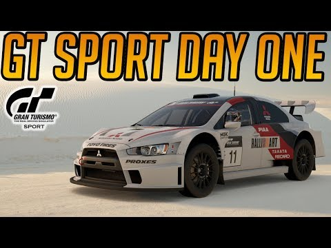 Gran Turismo Sport: Day One Gameplay!