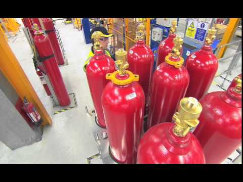 Inert Gas Filling Station Facility at Tyco Fire Protection Products