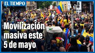 Nueva jornada de movilizaciones masivas en todo el país