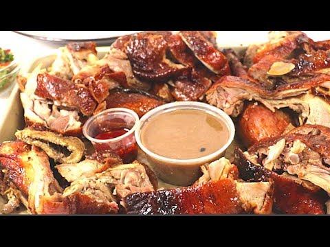 Roast Duck Peking Style Mukbang!