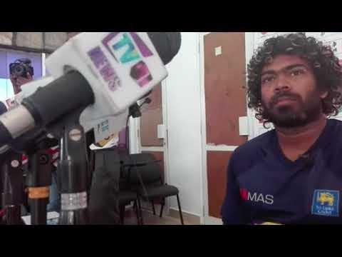 Lasith Malinga Press Conference at SLC