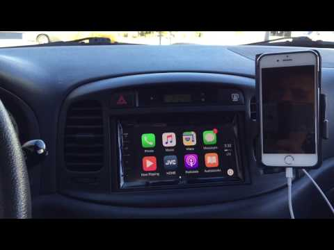 JVC KW-V820BT Apple CarPlay Head Unit