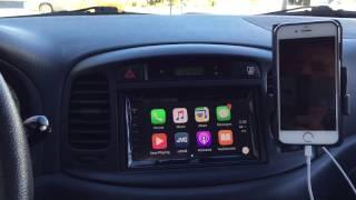 JVC KW-V820BT Apple CarPlay Head Unit