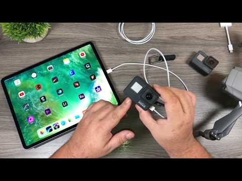 iPad Pro 2018 USB-C and GoPro / DJI Mavic 2 Compatibility