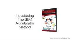 SEO Accelerator Method Sale Video
