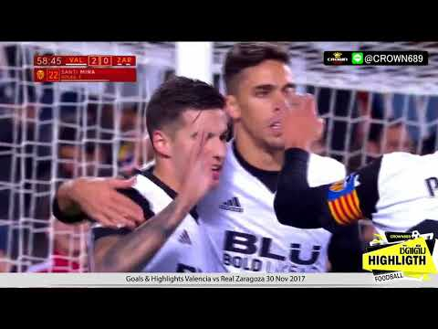 Valencia vs Real Zaragoza 30.11.2017