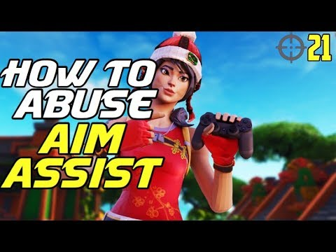 how to abuse aim assist improve your aim on ps4 xbox fortnite fortnite controller aim guide - fortnite aim assist ps4 tips