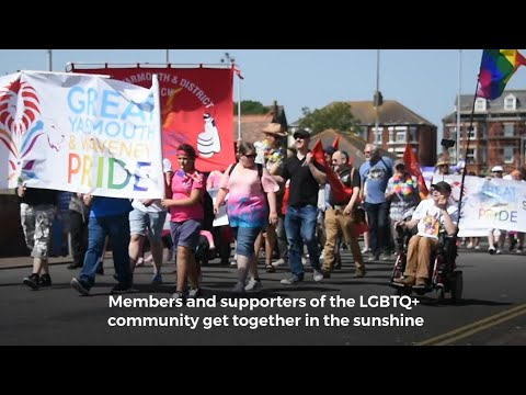 Great Yarmouth Pride Parade