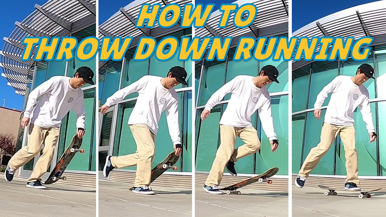 How to throw down a skateboard?