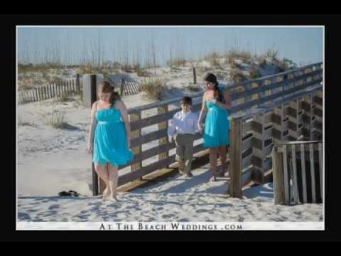 Gulf Shores Wedding by AtTheBeachWeddings.com