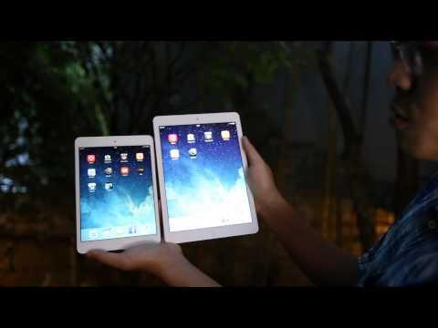 Tinhte.vn - So sánh iPad Air và mini retina