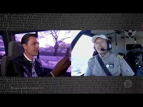 Filho de Marcelo Rezende entrevista Comandante Hamilton