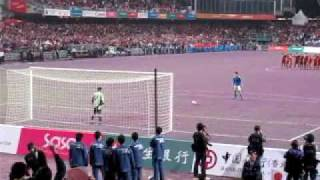 東亞運動會足球決賽: 中國香港VS日本