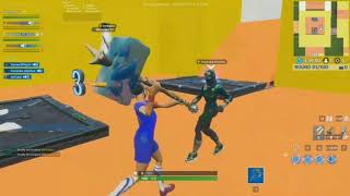 Fortnite Mcdonalds Deathrun (Dymani trying to get me reported on YT) #77isus