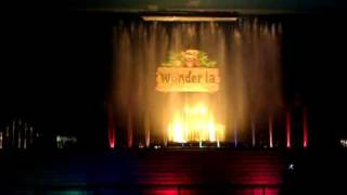 Fountain Music & Laser Show at Wonderla Bangalore (India)