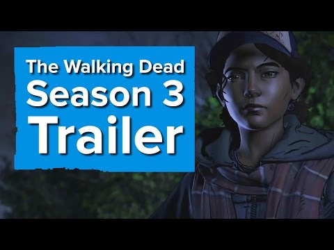 Telltale's The Walking Dead Season 3 Trailer - The Game Awards 2016