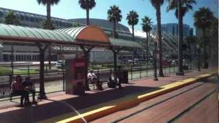 New Green Line Trolley Service Downtown San Diego
