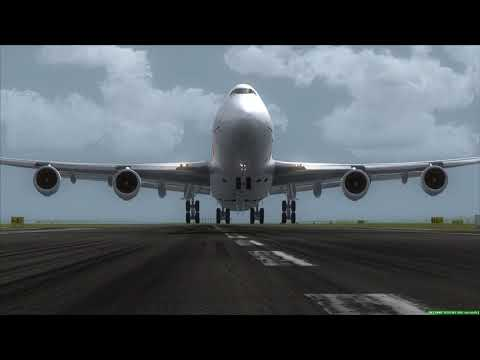 CameraMan vs. Boeing 747-400F