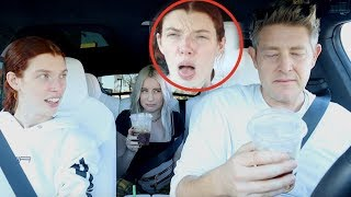 TRYING THE WORST STARBUCKS DRINK!!