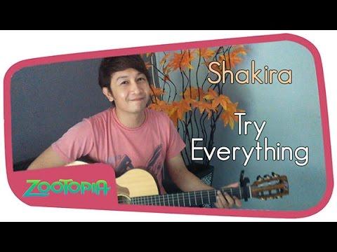 download lagu shakira try everything ost zootopia
