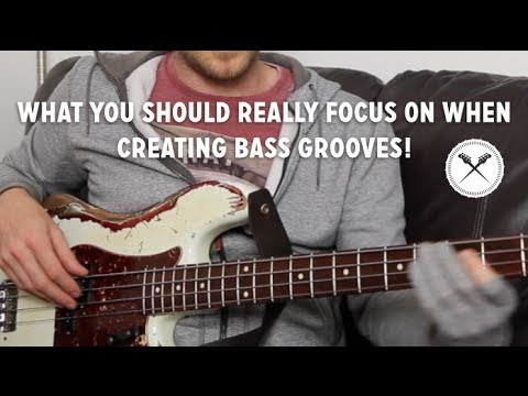 """What you should """"REALLY"""" focus on when creating grooves - """"Groove Analysis"""" // ScottsBassLessons"""