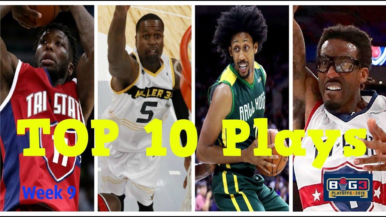 TOP 10 Plays | Week 9 Playoffs | BIG3 Season 2 (PLAYOFFS Time!)