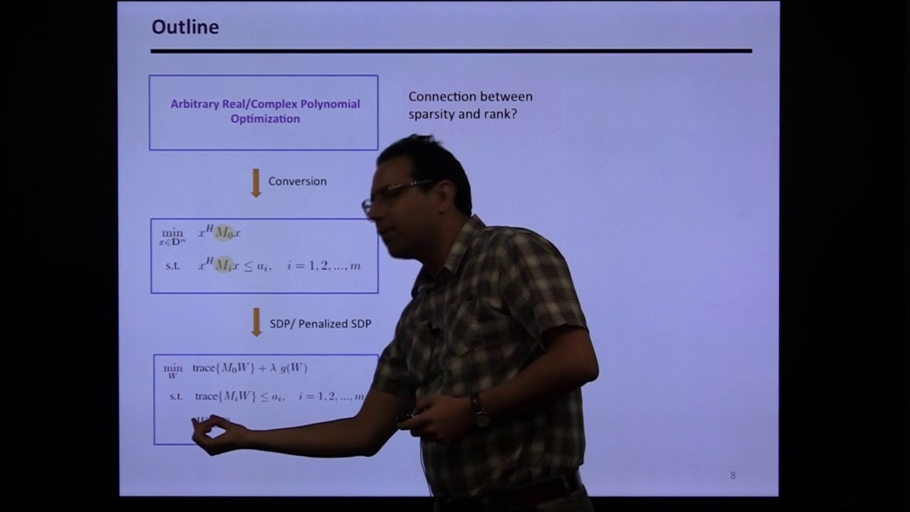 """Download UTRC CDS Invited Lecture: Javad Lavaei """"Graph-Theoretic Convexification of Polynomial Optimization"""""""