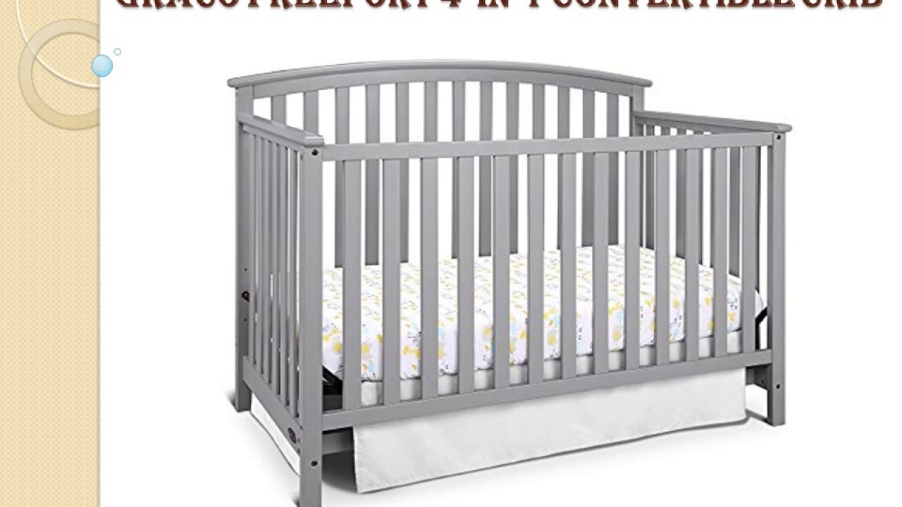 ultimate guide of graco freeport 4in1 convertible crib pebble gray review
