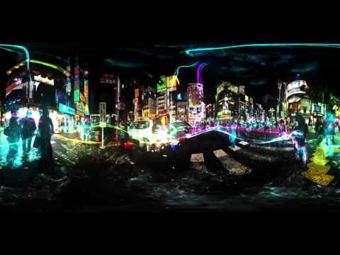 360 Video Previs for a Sci-Fi VR Film Idea.