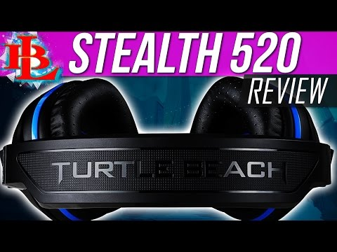 TURTLE BEACH STEALTH 520 REVIEW | PS4 Gaming Headset Wireless Headset Ear Force Stealth 520