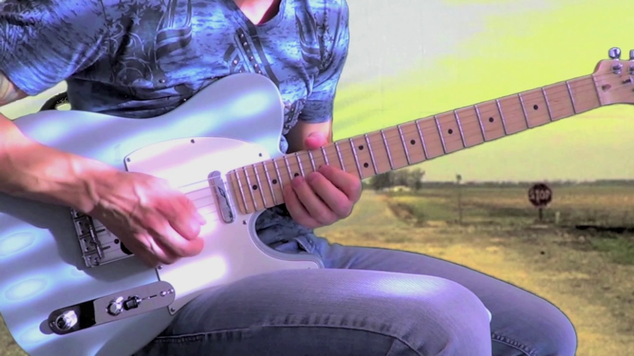 Talk To Your Daughter Robben Ford Guitar Cover Youtube