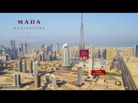 Mada Residences Downtown Dubai by ARTAR - Cityscape Global 2016