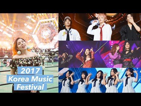 Front Row at a KPOP CONCERT! Korea Music Festival 2017