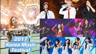 Video Front Row at a KPOP CONCERT! Korea Music Festival 2017 download MP3, 3GP, MP4, WEBM, AVI, FLV Desember 2017