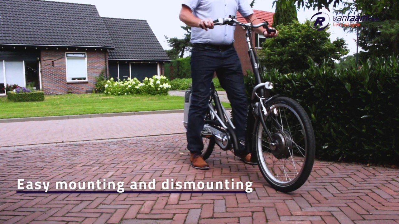 f96372471d6 Balance low step through e bike - YouTube