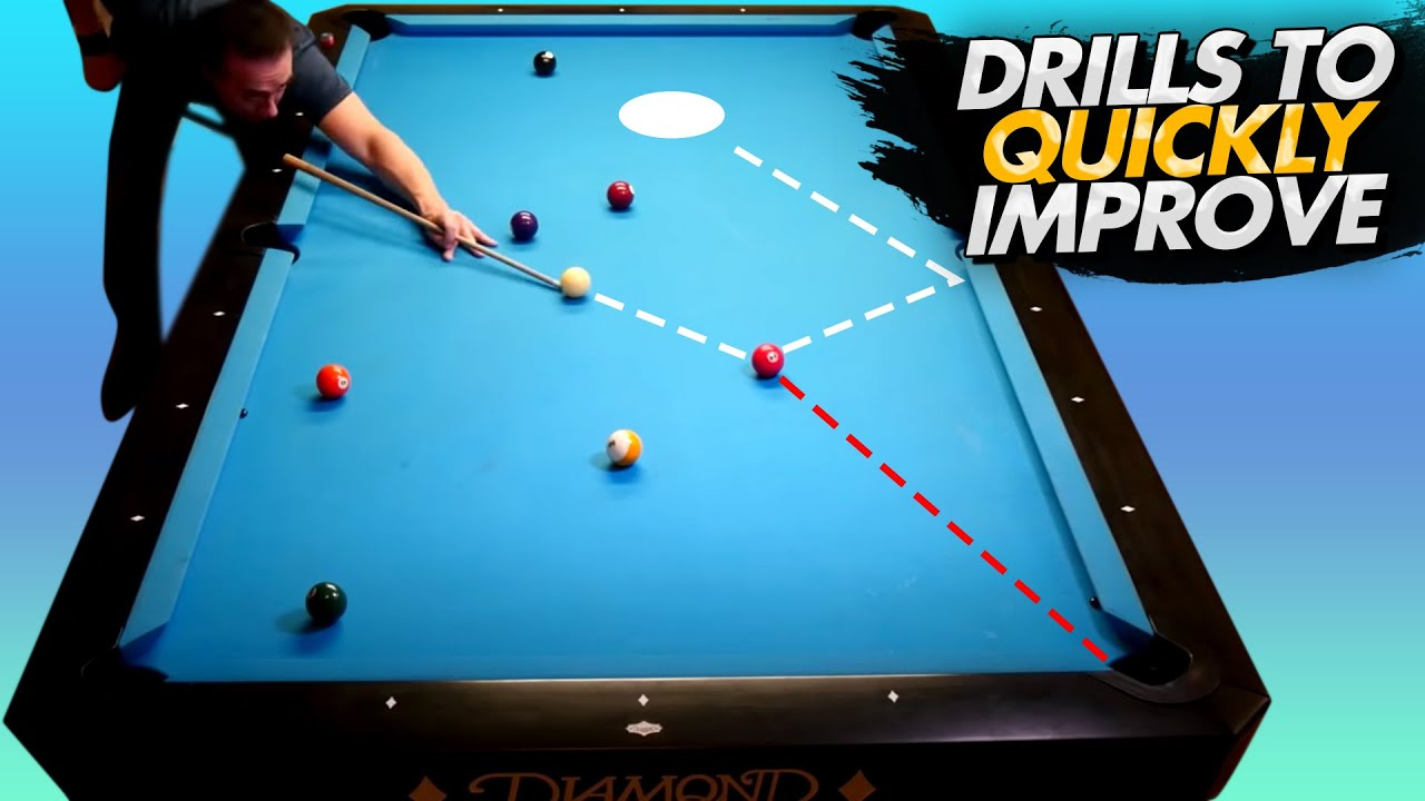 Drills to Quickly Improve Your 8-Ball Patterns!