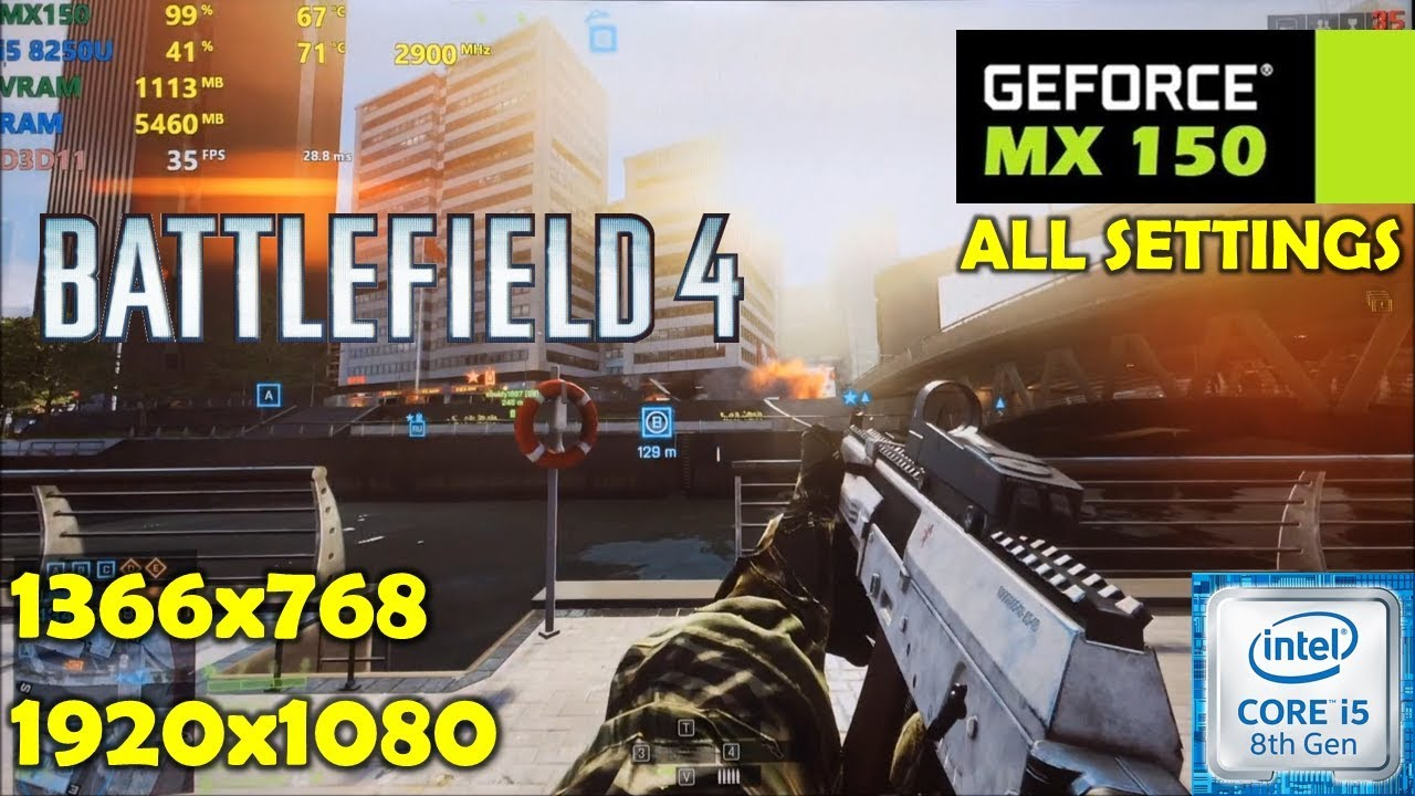 Battlefield 1 - 2600K/4790K/6700K/7700K Overclocked vs. 8700K .