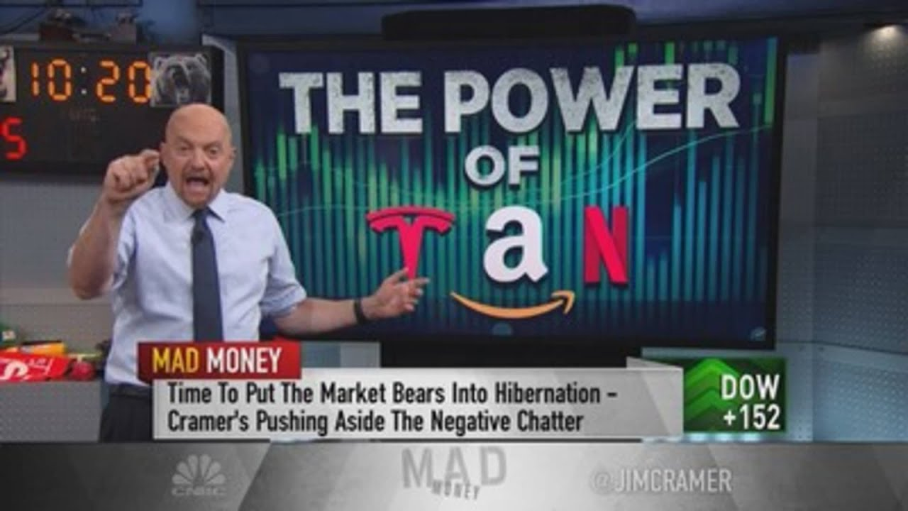 Jim Cramer says it's time to stop listening to 'bearish billionaires' who've been negative for years - CNBC Television