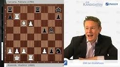 Kramnik-Caruana, Kandidatenturnier 2018: Ein  Wechselbad der Gefühle