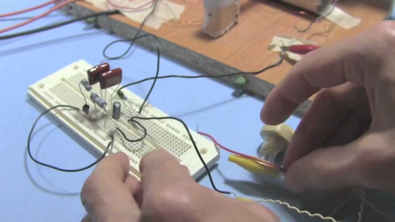 Steps For How To Make Amplifier Crystal Radio Earpiece Youtube Electrical Wiring