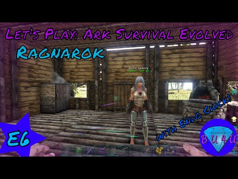 Purple Treasure - Ark Survival Evolved with Endo Chick   Ragnarok   Modded   Let's Play   S1E6
