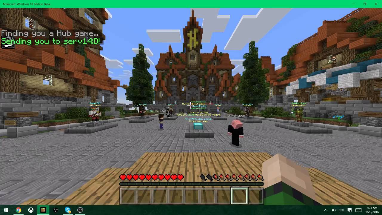 hypixel ip for windows 10