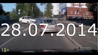 Аварии и ДТП Июль 2014 Car crash compilation #27(, 2014-07-28T07:51:42.000Z)