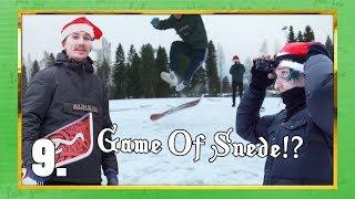 GAME OF SNEDE!? | Haastekalenteri 2018 Luukku 9