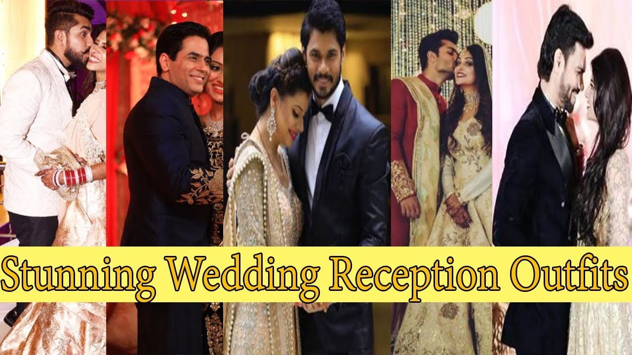 Top 16 Tv Celebrities And Their Stunning Wedding Reception Outfits