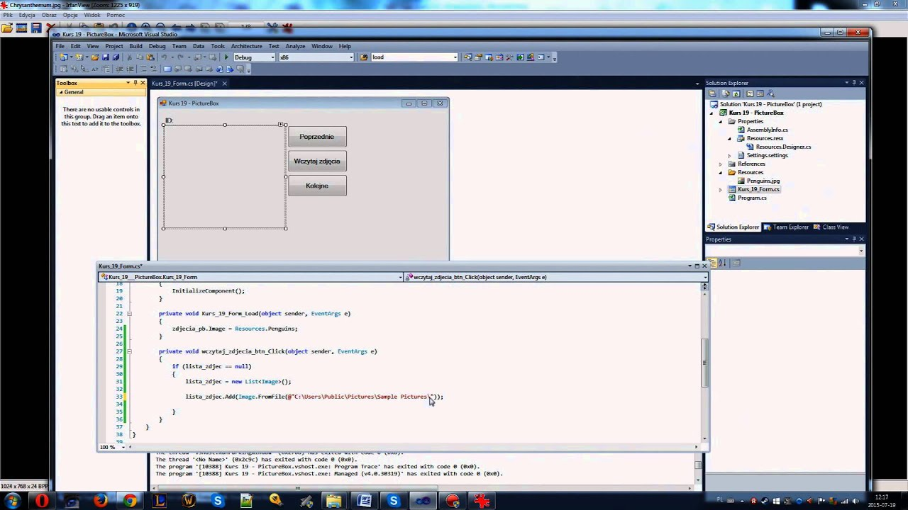 Visual studio 2010 winform c kurs 19 picturebox youtube visual studio 2010 winform c kurs 19 picturebox negle Choice Image